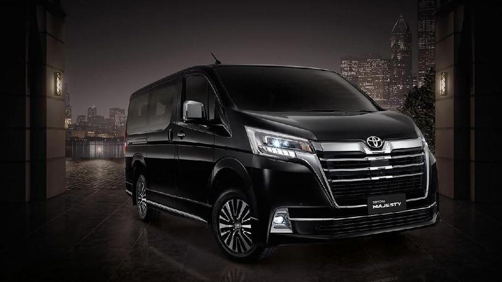 Toyota Majesty, MPV Mewah Berbasis HiAce
