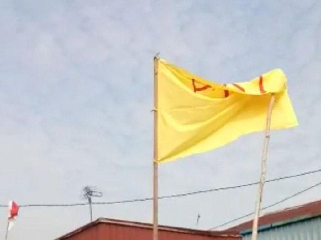 Pria Kalbar Pengibar Bendera Bertuliskan PKI Jalani Observasi Kejiwaan