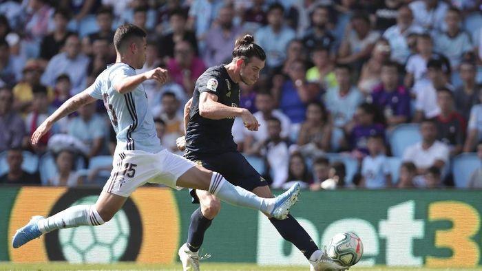 Gareth Bale turun sebagai starter dan bikin assist kala Madrid menang 3-1 atas Celta. (Foto: Luis Vieira/AP Photo)
