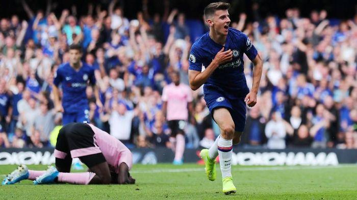 Chelsea ungguli Leicester City 1-0 di babak pertama (REUTERS/Eddie Keogh)