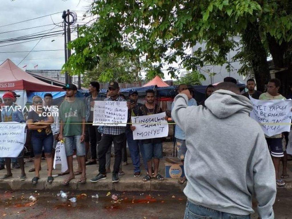 Sempat Diamankan, 3 Pendemo Rusuh di Sorong Dipulangkan