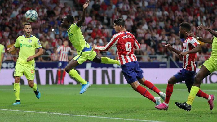 Atletico vs Getafe: Gol Alvaro Morata menangkan tuan rumah (Foto: Sergio Perez/Reuters)