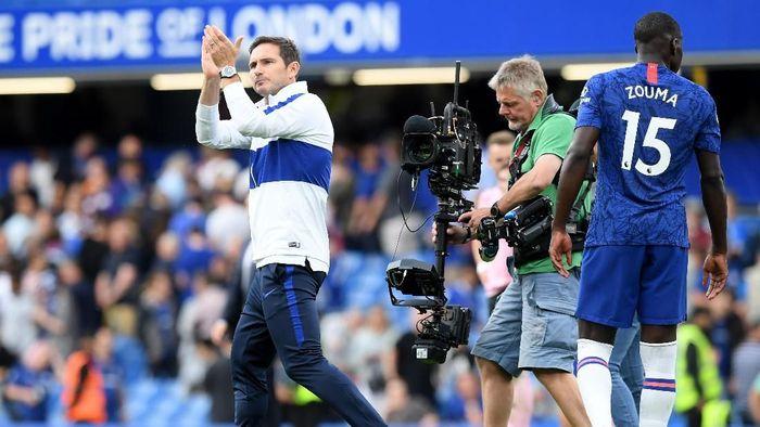 Frank Lampard enggan menyebut kelelahan sebagai faktor penyebab Chelsea kembali gagal menang (Foto: Michael Regan/Getty Images)