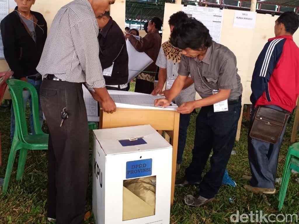 KPU Hitung Suara Ulang 160 TPS di Humbang Hasundutan Sumut