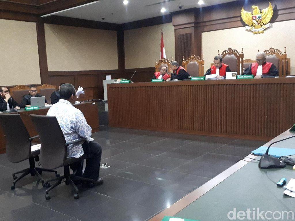 Jaksa KPK Tanya soal Sadapan ke Ahli, Pengacara Sofyan Basir Protes