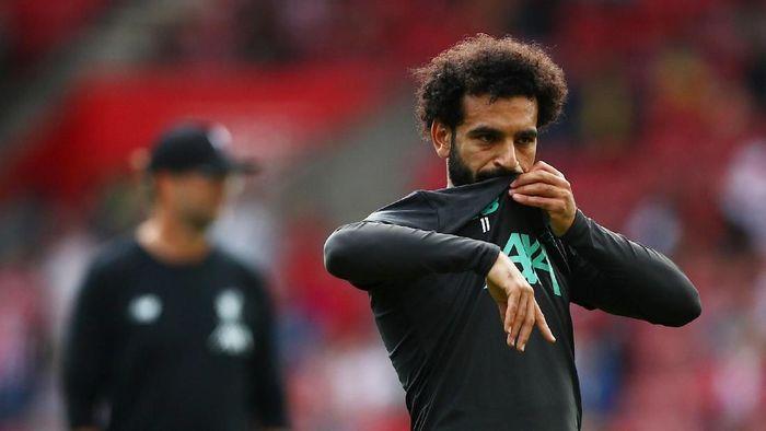Mohamed Salah berpeluang main di Olimpiade 2020 (Hannah McKay/Reuters)