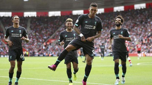 Liverpool kuasai puncak klasemen Liga Inggris.