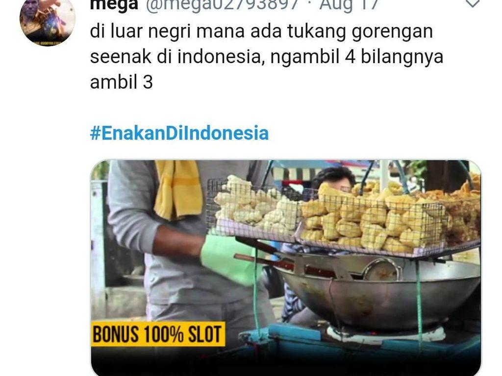 Cuitan Netizen Enakan di Indonesia Foodies Harus Baca