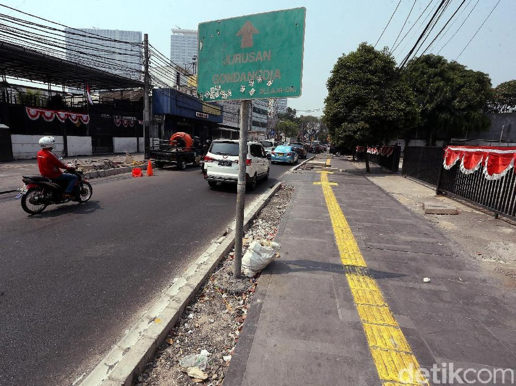 Revitalisasi Trotoar di DKI, Ini Lokasi yang Jadi Fokus Bina Marga