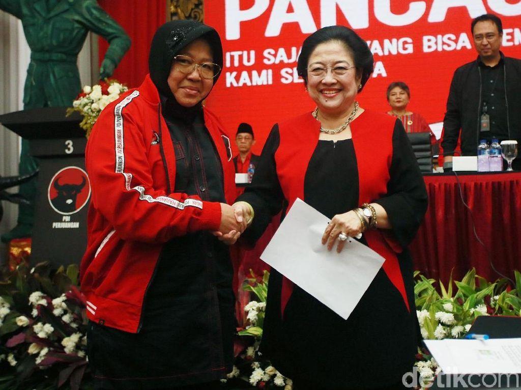 Cerita Megawati soal Risma Makin Kurus Padahal Baru Sebentar Jadi Mensos