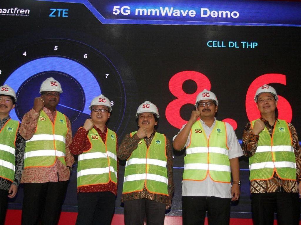 Smartfren Uji Coba 5G