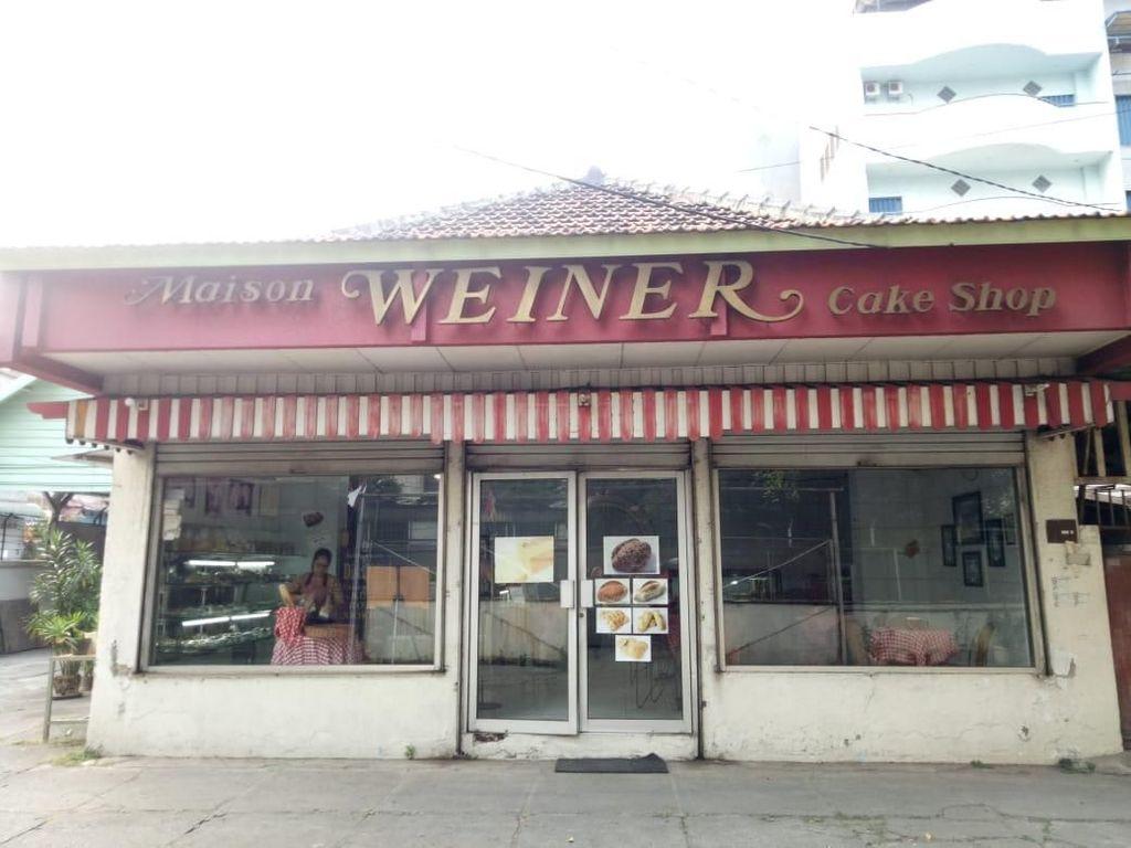 Masion Weiner Toko Roti Eropa di Jakarta yang Berusia 83 Tahun