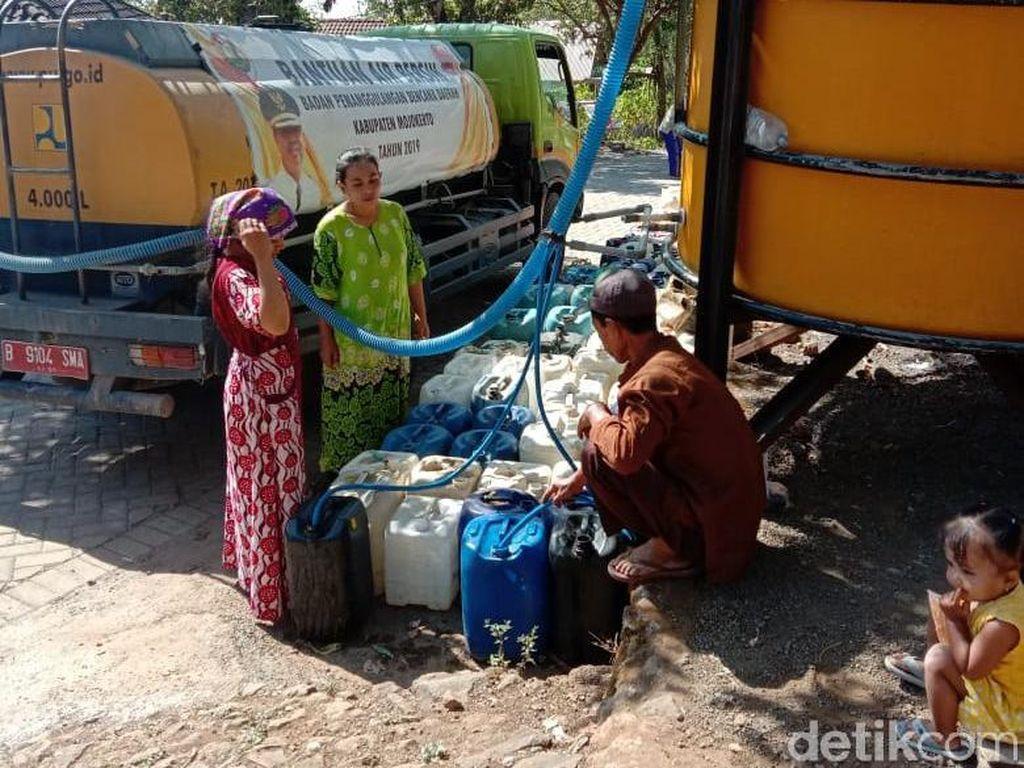 7.386 Jiwa di Enam Desa Mojokerto Terdampak Kekeringan