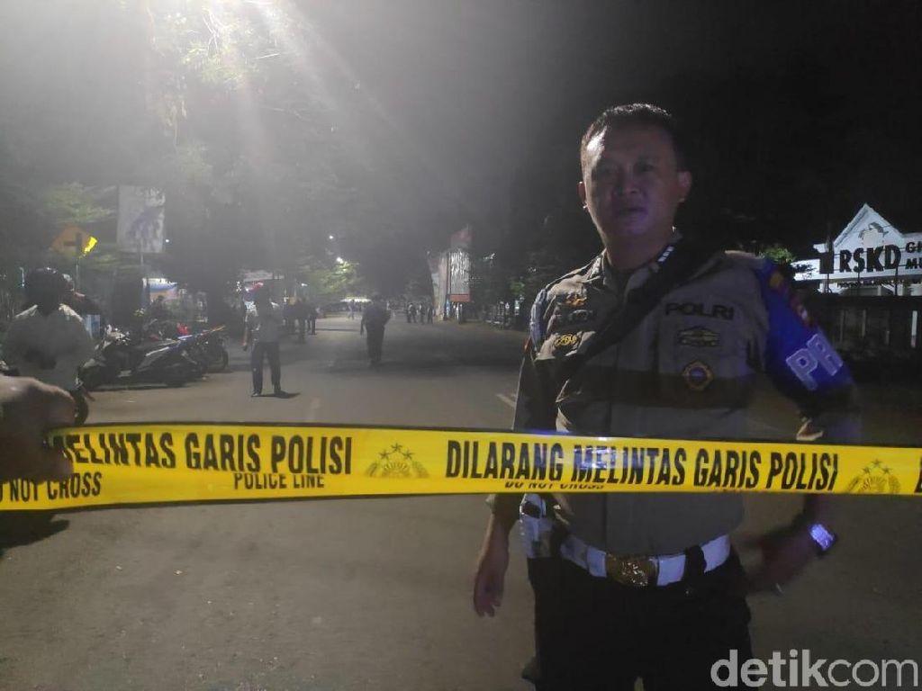 Mahasiswa Papua Bentrok di Makassar, Jalanan Dijaga Ketat Polisi
