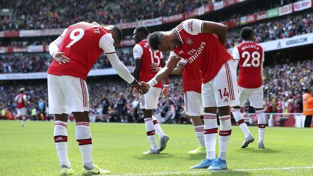 Laga Arsenal di Liga Inggris. (