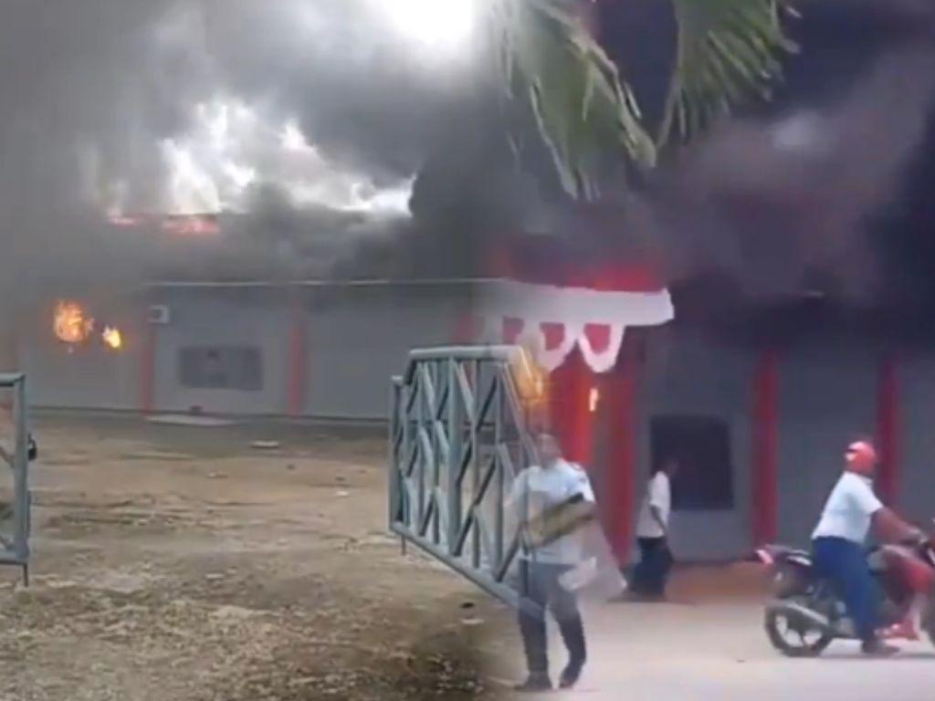 Kronologi Rusuh dan Kebakaran Lapas Sorong yang Bikin 258 Napi Kabur