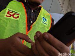Smartfren Ingin Tantang Telkomsel-Indosat dengan 5G Sempurna