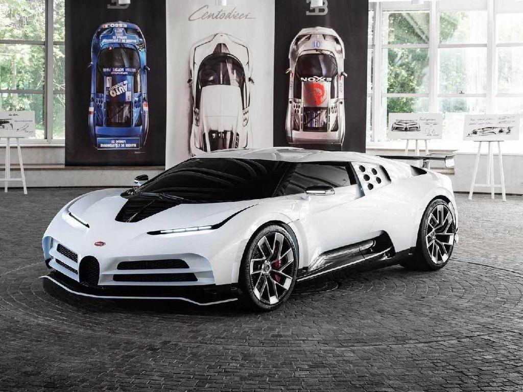 Koleksi Mobil Terbaru Cristiano Ronaldo: Bugatti Centodieci Senilai Rp 145 M