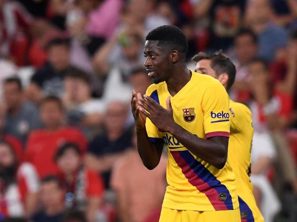 Dembele di Barcelona: 60% Main Bola, 40% Cedera