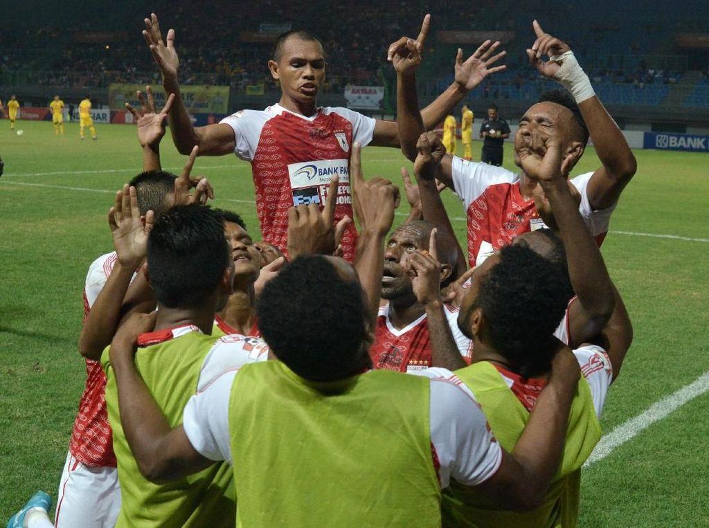 Lawan Borneo FC, Persipura Jayapura Minta Doa Restu Masyarakat Papua