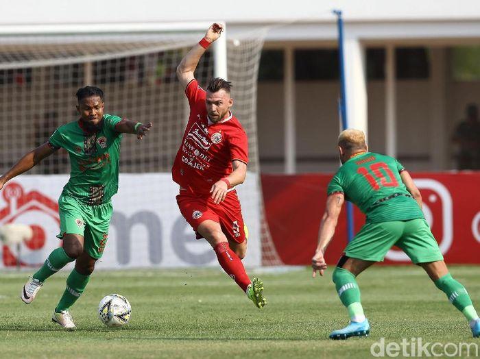 Persija Jakarta menghajar Kalteng Putra 3-0 di Liga 1 2019. (Foto: Rifkianto Nugroho/detikcom)