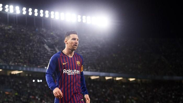 Lionel Messi jadi pemain dengan rating paling tinggi di FIFA 20 (Aitor Alcalde/Getty Images)
