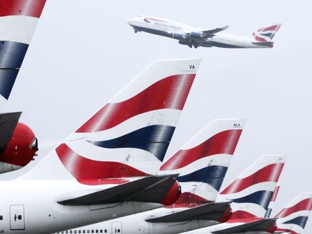 Pilot British Airways Batal Mogok Akhir September