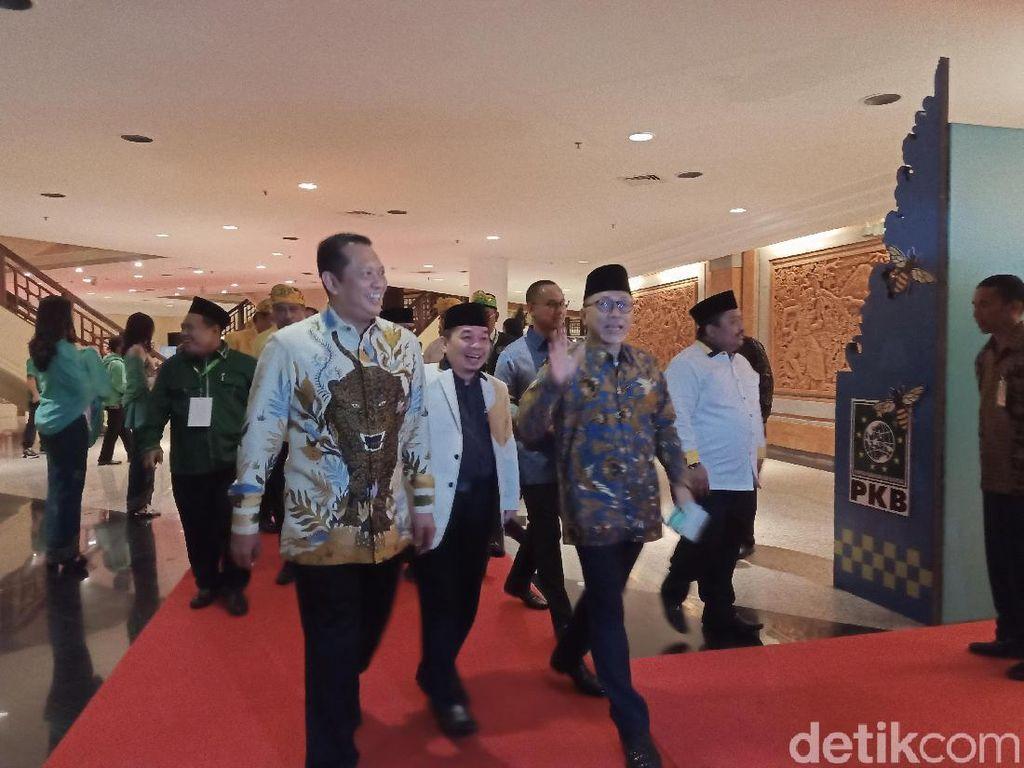Zulkifli Hasan-Bamsoet Hadiri Muktamar V PKB di Bali