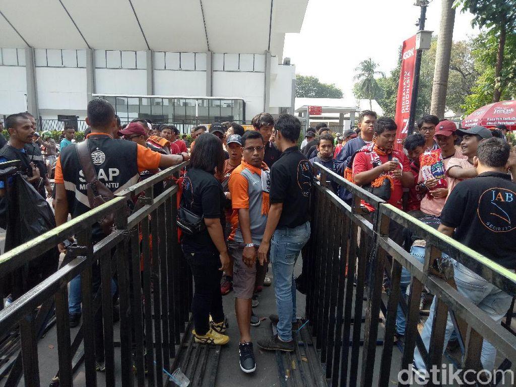 Tanding di Stadion Madya, Persija Tak Kehilangan  The Jakmania