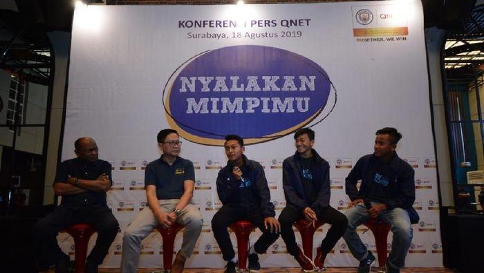Tiga pemain akademi Persebaya Surabaya kembali dari pelatihan di Manchester City (dok.QNET)