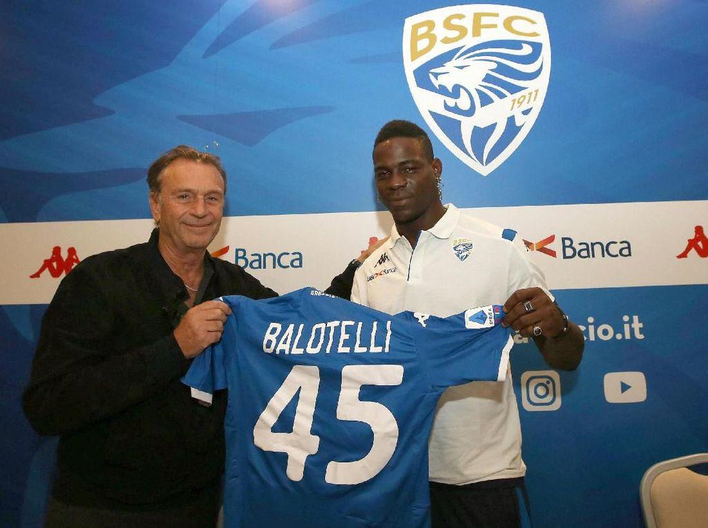 Dari Brescia, Balotelli Incar Timnas Italia