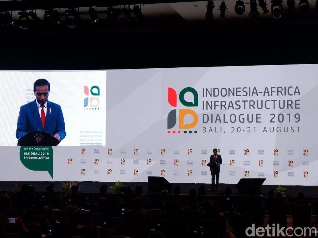 Ajak Afrika Hadapi Global, Jokowi: Perang Dagang Harus Dilawan!