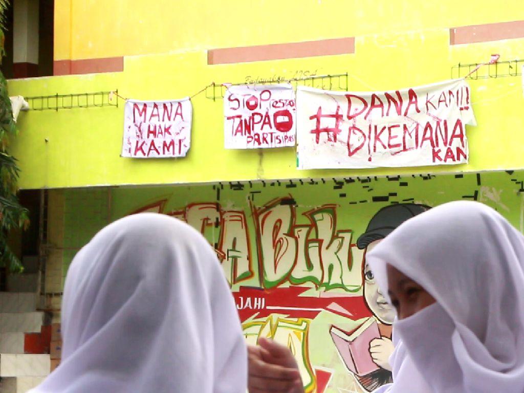 Siswa SMAN 1 Parepare Demo di Sekolah, Tuntut Transparansi Dana BOS