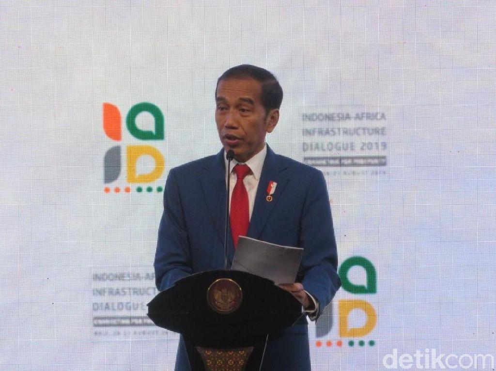 Jokowi Hadiri Dialog Indonesia-Afrika di Bali