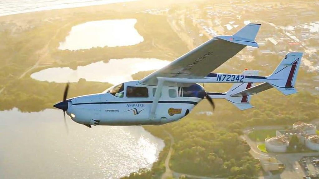 Potret Pesawat Ramah Lingkungan Pertama di Dunia