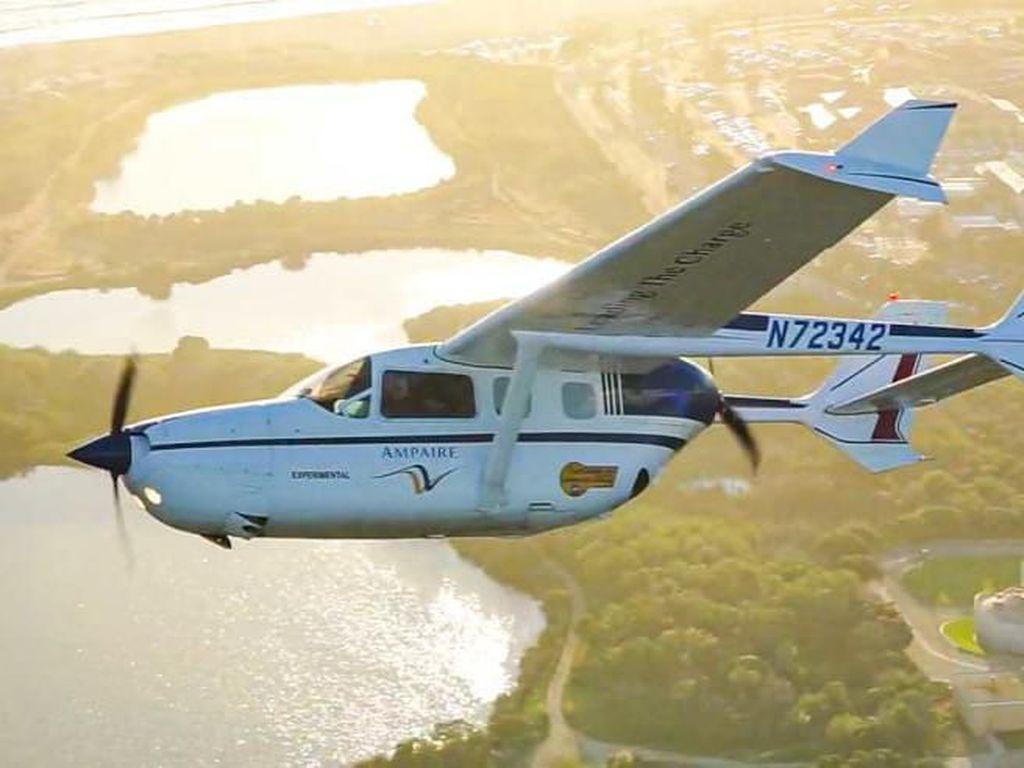 Ini Pesawat Ramah Lingkungan Pertama yang Bakal Mengudara