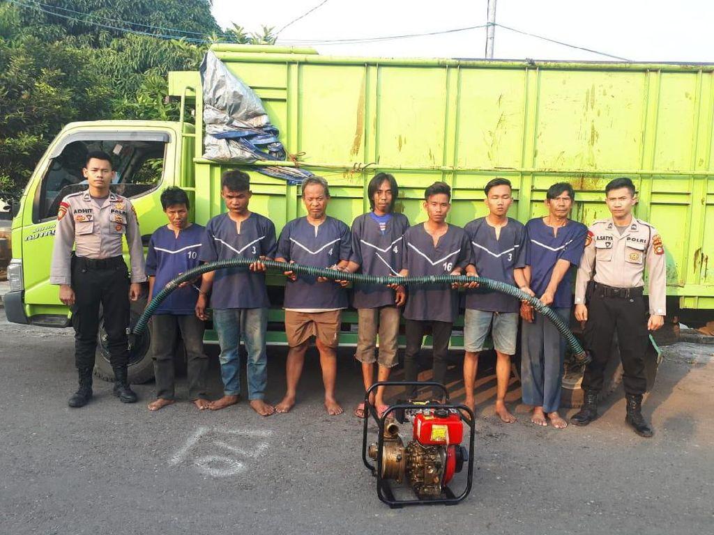 Pencuri Minyak Mentah di Sumsel Ditangkap
