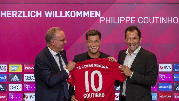 Coutinho rela jadi pemain pinjaman Bayern Munchen.