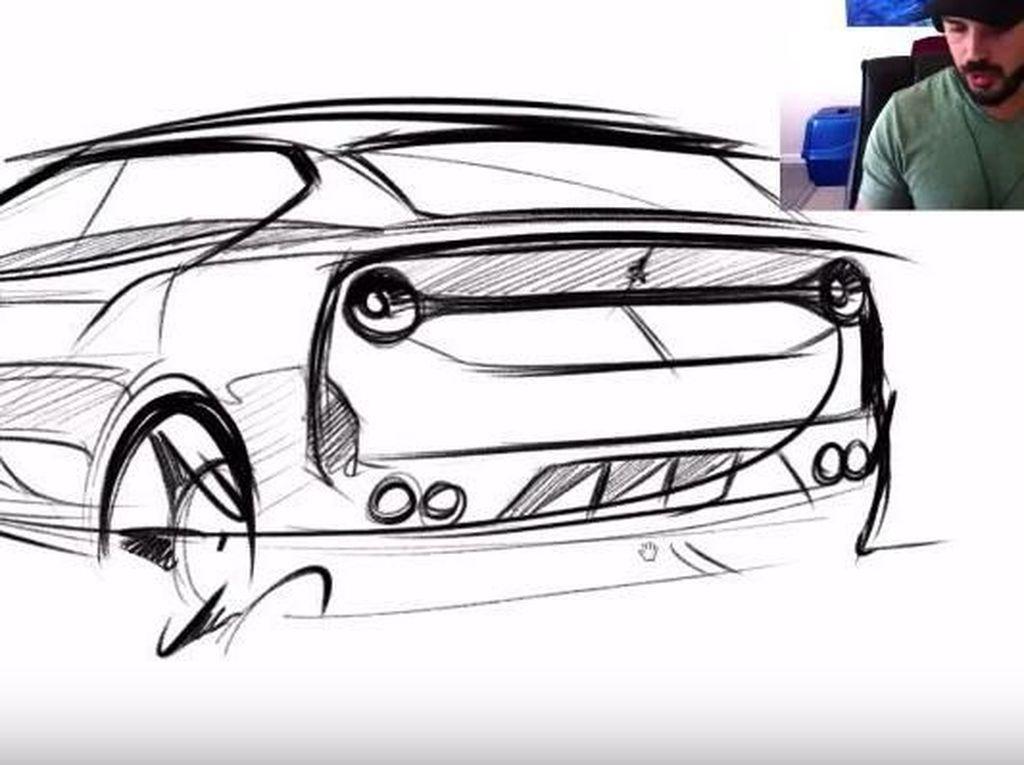Keren Juga Rancangan SUV Keluarga dari Ferrari