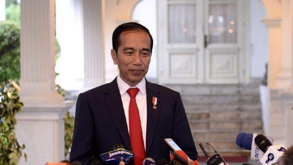 صور: الرئيس جوكو ويدودو (Jokowi) (BPMI Setpres/Kris)