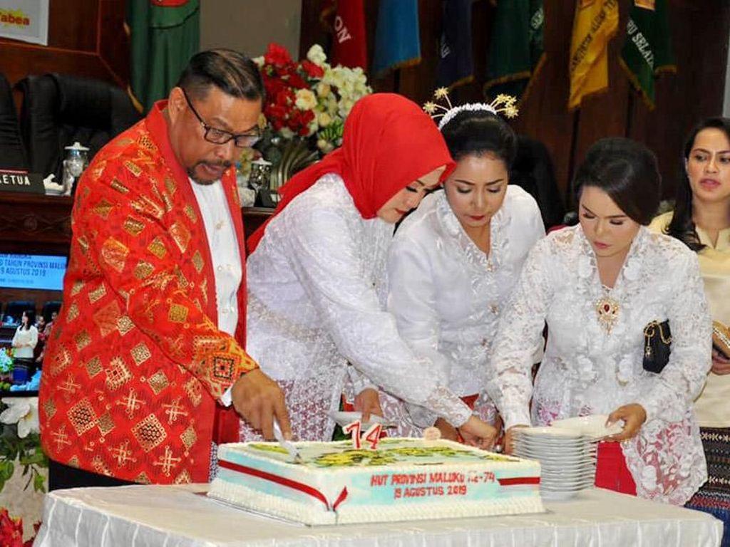 Rayakan 74 Tahun Maluku Maju Dalam Pembangunan