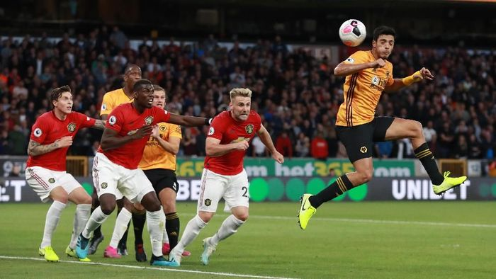 Manchester United diimbangi Wolverhampton Wanderers 1-1 dalam lanjutan Liga Inggris (Foto: David Rogers/Getty Images)