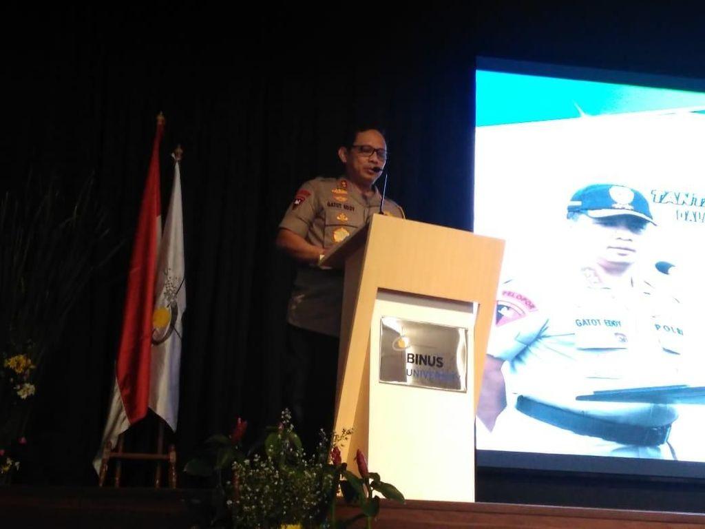 Kuliah Umum di Binus, Kapolda Metro Singgung Rusuh Manokwari yang Dipicu Hoax