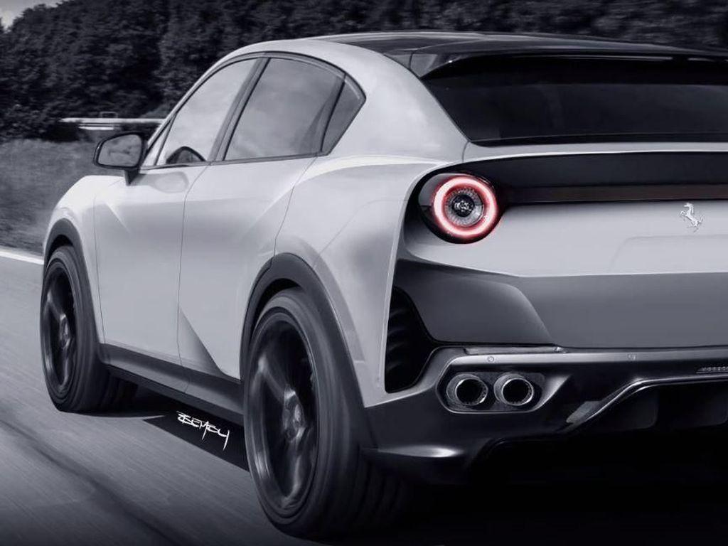 Desain Mobil Ferrari saat Lahirkan Mobil Keluarga Nih!