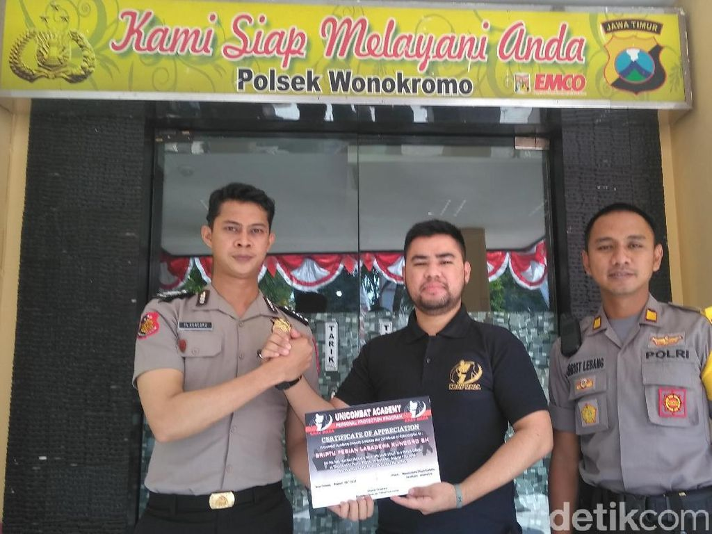 Ini Cerita Polisi yang Lumpuhkan Pria Penyerang Polsek Wonokromo