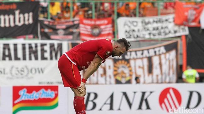 Persija Jakarta terpuruk di putaran pertama Liga 1 2019.(Foto: Rifkianto Nugroho/detikSport)