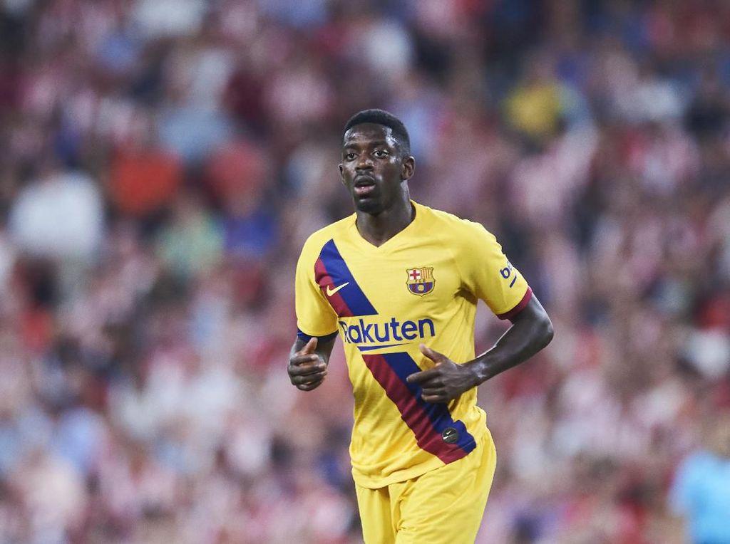 Rumor Transfer: Ousmane Dembele Masuk Radar MU
