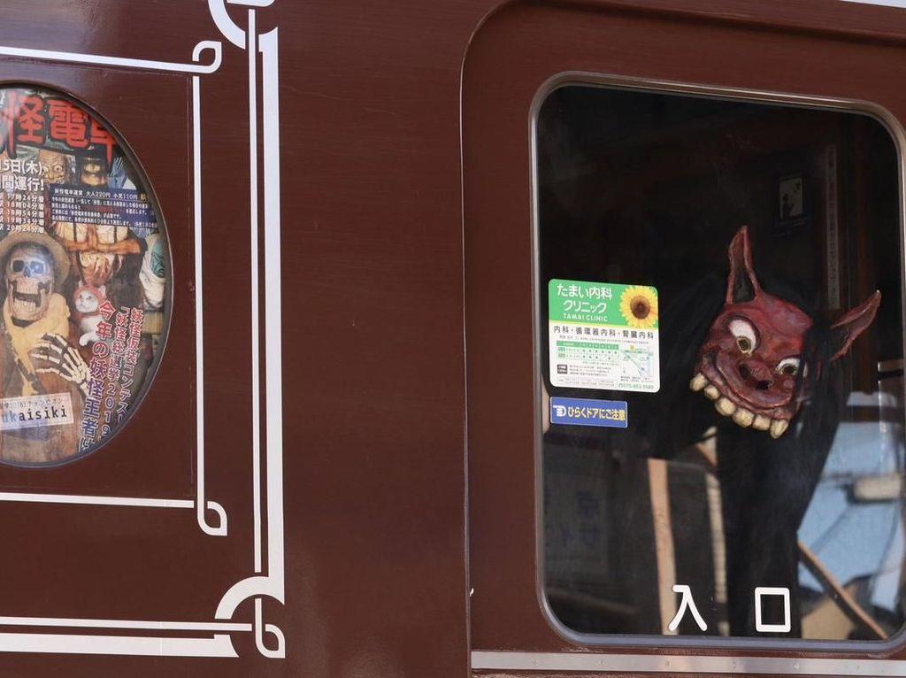 Foto: Penampakan Kereta Hantu di Jepang