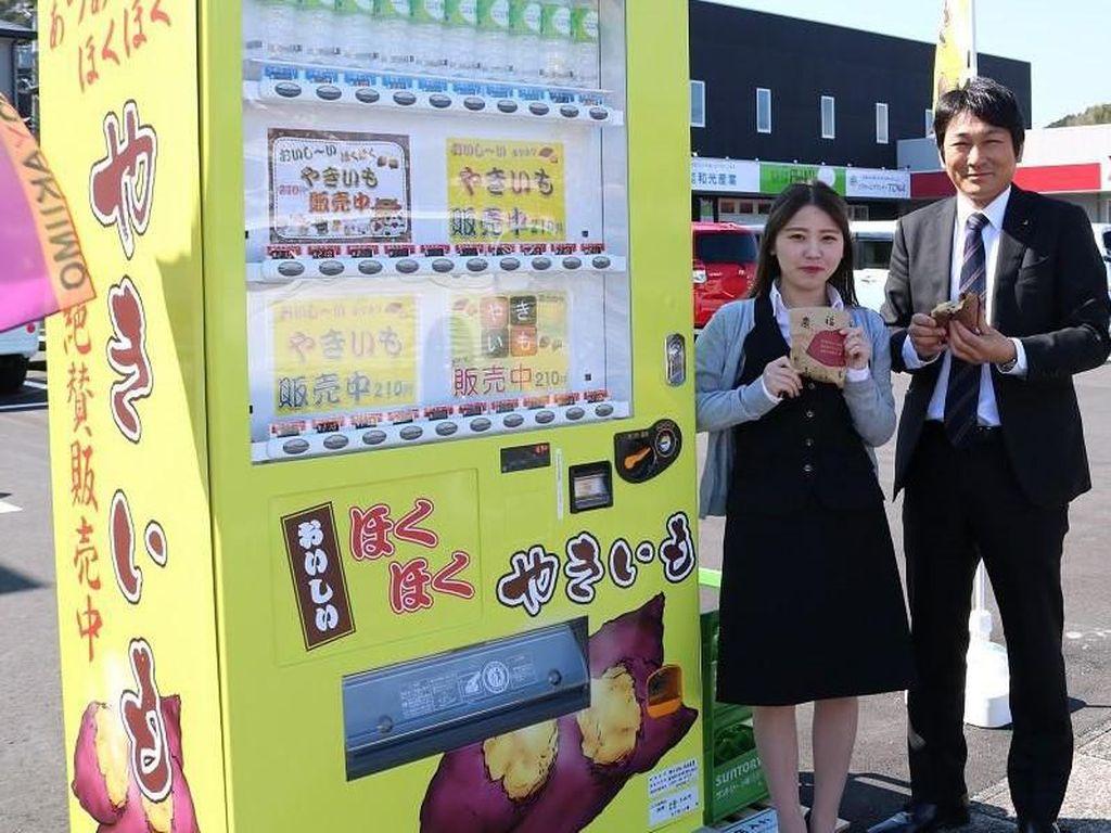 Nyamm! Empuk Manis Ubi Panggang Kini Tersedia di Vending Machine