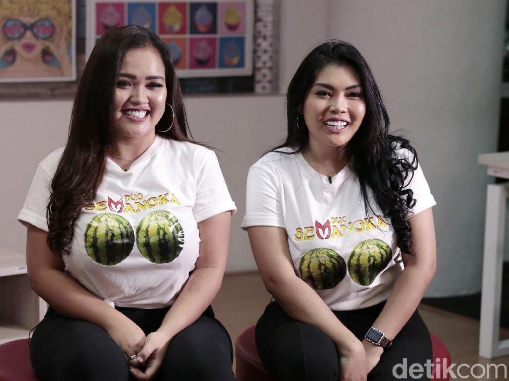 Clara Gopa Duo Semangka Bingung Kanopi Rumahnya Jadi Viral